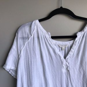 White Lucky Brand Co  blouse